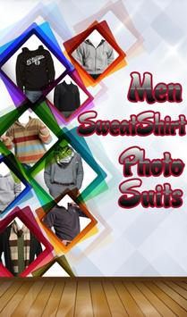 Men Sweatshirt Photo Suit poster