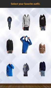 Men Sweatshirt Photo Suit screenshot 2
