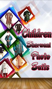 Children Sherwani Photo Suit screenshot 3