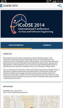 ICoDSE 2014 poster