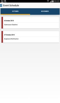 ICoDSE 2014 apk screenshot