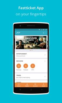 Fastticket - Mobile,DTH,Movies poster