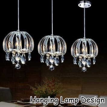 Hanging Lamp Design poster