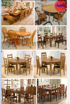 Wooden Dining Table Design apk screenshot