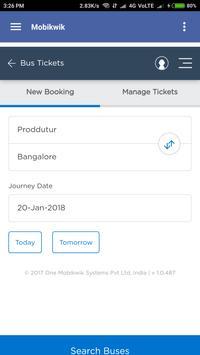 Bus Ticket booking screenshot 14