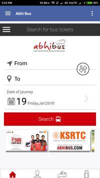 Bus Ticket booking screenshot 3