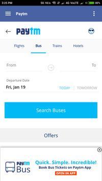 Bus Ticket booking screenshot 4