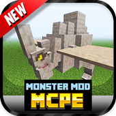 Monster Mod For MCPE` icon