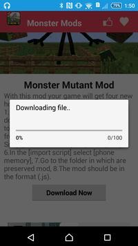 Monster Mod For MCPE` screenshot 9