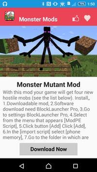 Monster Mod For MCPE` screenshot 3