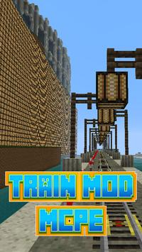 Train Mod For MCPE` poster