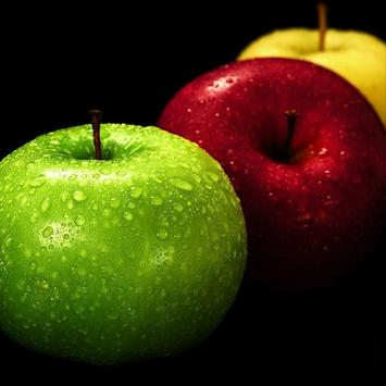 Colored Apples poster