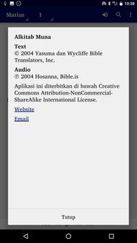 Alkitab Muna screenshot 3