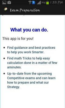 Exam Preparation apk screenshot