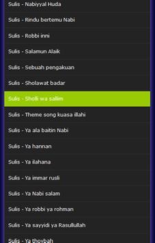 Lagu Religi Terbaik Sulis screenshot 1