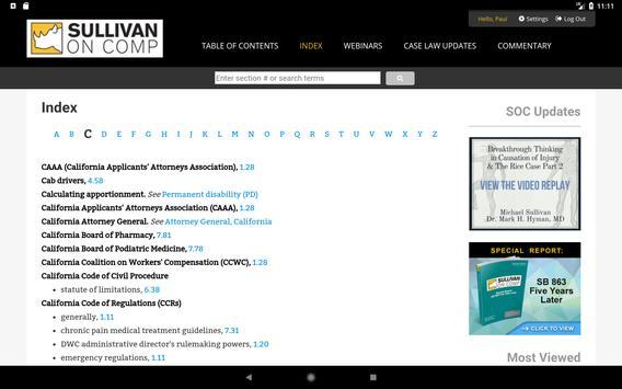 Sullivan on Comp screenshot 7