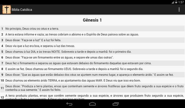 Bíblia Católica apk screenshot