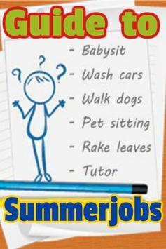 Guide to Summer jobs screenshot 1