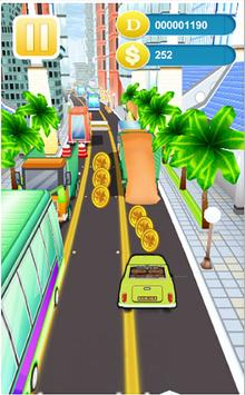Bean Racing Car apk screenshot