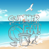 Summer Theme Coloring Pages icon