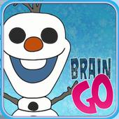 Snowman Frozen GO icon