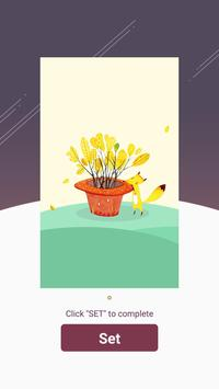 Live wallpaper A small apk screenshot