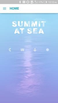 Summit at Sea 2015 poster
