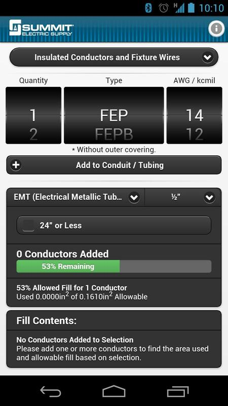Conduit fill tracker apk download free tools app for android conduit fill tracker poster keyboard keysfo