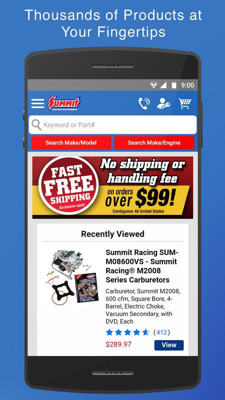 Nov 21,  · Use the Summit Racing app to easily search for auto parts and accessories. Shop more than million auto and stock replacement parts from your mobile device. View the sale items, connect with our social media accounts, and read articles from OnAllCylinders. View your orders, request a catalog, and even watch our YouTube videos.4/4().