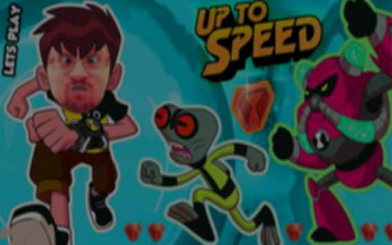 Tips Ben 10 up to speed poster