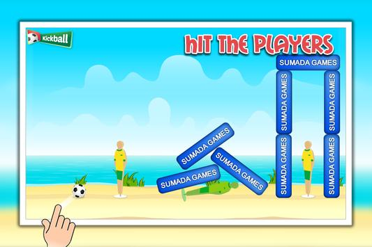 Kickball - Football Game apk screenshot