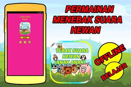 Tebak Suara Hewan (ANAK - ANAK) poster