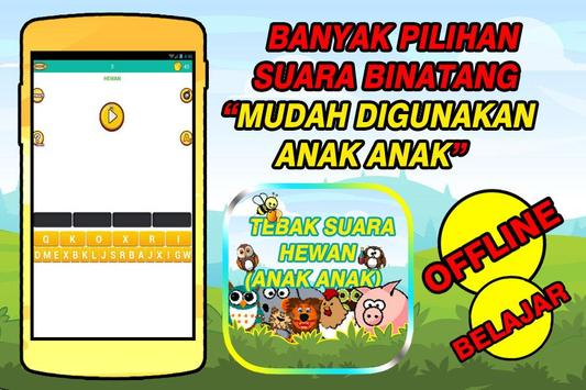 Tebak Suara Hewan (ANAK - ANAK) screenshot 1