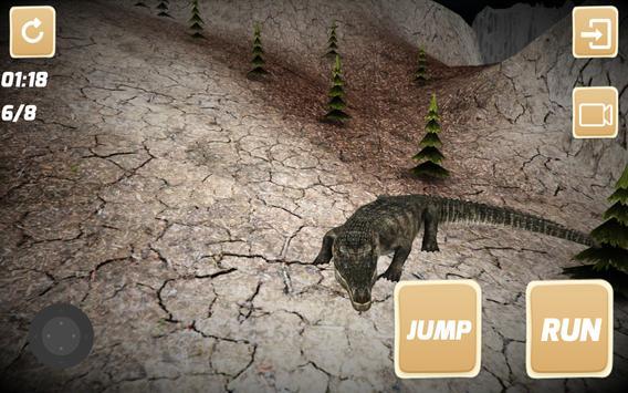 The Wild Crocodile apk screenshot