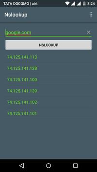 Nslookup screenshot 1