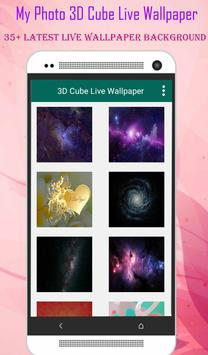 My Pic 3D Cube Live Wallpaper apk screenshot