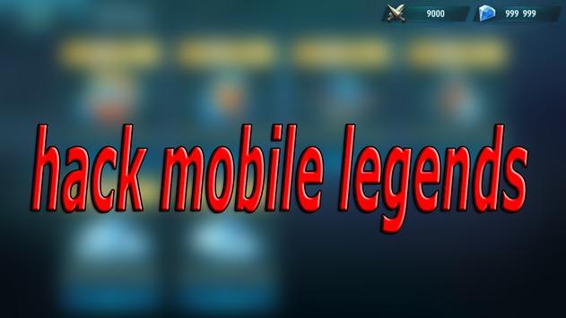 Cheats For Mobile Legends Hack - Prank! screenshot 2