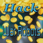 Cheats For War Robots Hack - Prank! icon