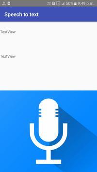 Speech to text Convert App screenshot 1