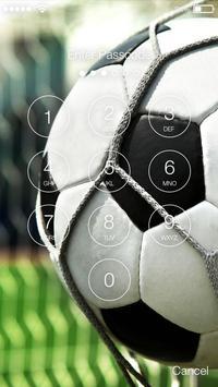 Euro Football Screen Lock apk screenshot