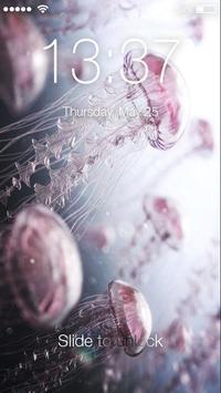Jellyfish Lock Screen poster