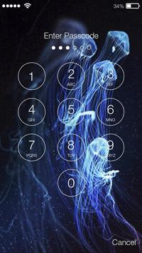 Jellyfish Lock Screen screenshot 1