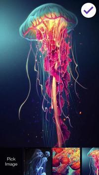 Jellyfish Lock Screen apk screenshot