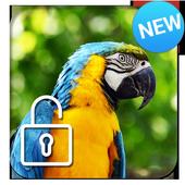 Parrot Ara Lock Screen icon