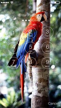 Parrot Ara Lock Screen screenshot 1