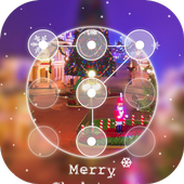 Christmas Scenery Applock icon