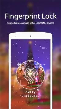 Christmas Scenery Applock poster