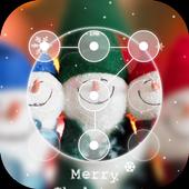 Christmas Smile Applock theme icon