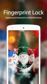 Christmas Smile Applock theme poster