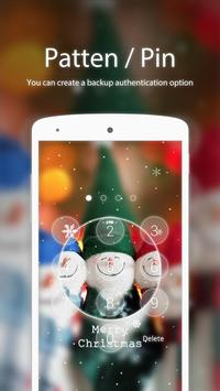 Christmas Smile Applock theme screenshot 1